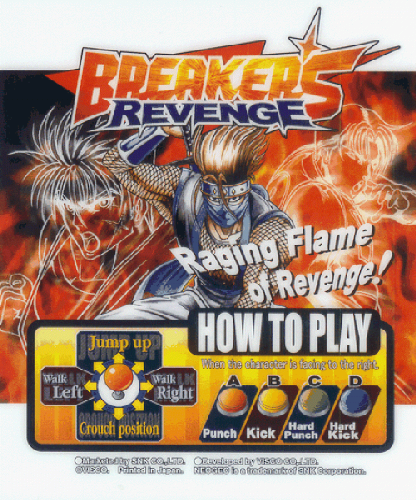 Breakers Revenge Marquee