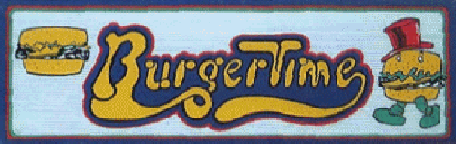 Burger Time (Data East set 2) Marquee