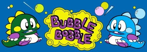Bubble Bobble (US, Ver 1.0) Marquee