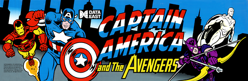 Captain America and The Avengers (Asia Rev 1.4) Marquee