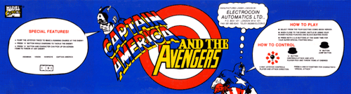 Captain America and The Avengers (UK Rev 1.4) Marquee