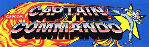 Captain Commando (USA 910928) Marquee