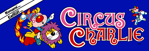 Circus Charlie (level select, set 1) Marquee
