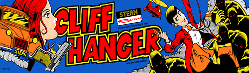 Cliff Hanger (set 1) Marquee
