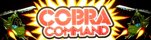 Cobra Command (Data East LD, set 1) Marquee