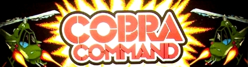 Cobra Command (M.A.C.H. 3 hardware) Marquee