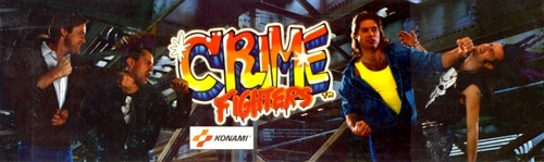 Crime Fighters (World 2 players) Marquee