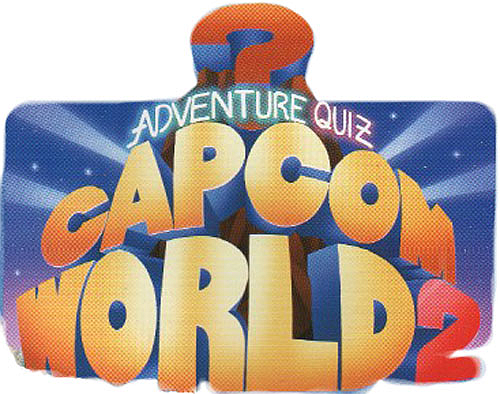 Adventure Quiz Capcom World 2 (Japan 920611) Marquee