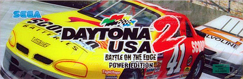 Daytona USA 2 Power Edition Marquee