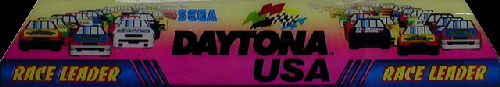 Daytona USA (Japan, Revision A) Marquee