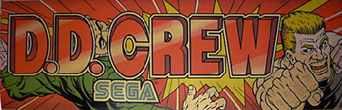 D. D. Crew (World, 3 Players) (FD1094 317-0190) Marquee