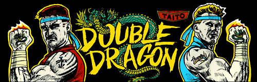 Double Dragon (Japan) Marquee