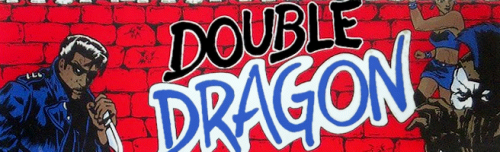 Double Dragon (bootleg with HD6309) Marquee