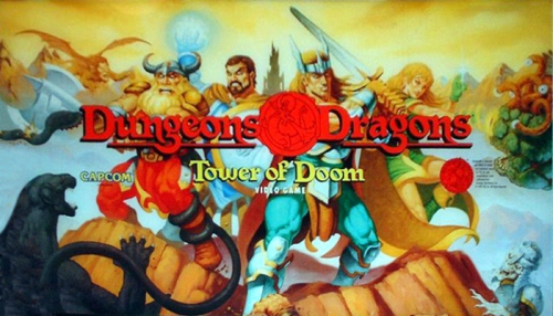 Dungeons & Dragons: Tower of Doom (Euro 940412) Marquee