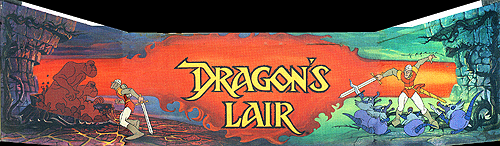 Dragon's Lair (US Rev. F2) Marquee