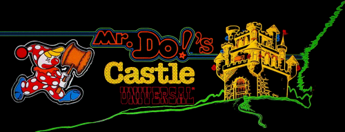 Mr. Do's Castle (set 2) Marquee