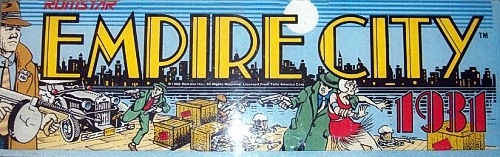 Empire City: 1931 (US) Marquee