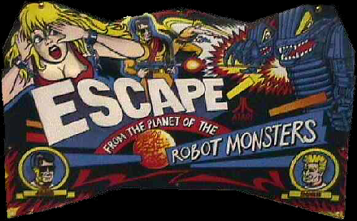 Escape from the Planet of the Robot Monsters (set 2) Marquee