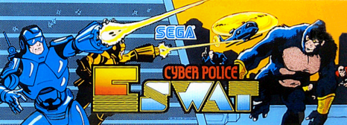 E-Swat - Cyber Police (set 4, World) (FD1094 317-0130) Marquee
