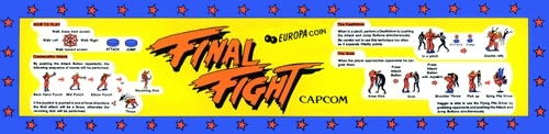 Final Fight (Japan) Marquee