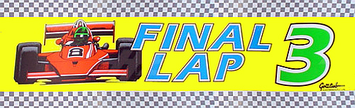 Final Lap 3 (Japan) Marquee