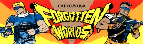 Forgotten Worlds (World, newer) Marquee