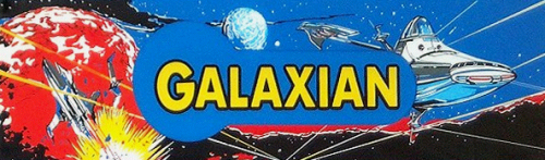Galaxian (Midway set 1) Marquee