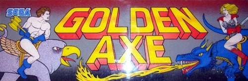 Golden Axe (set 6, US) (8751 317-123A) Marquee