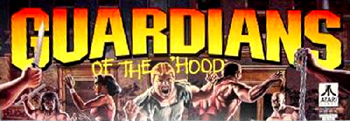 Guardians of the 'Hood Marquee