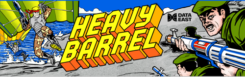 Heavy Barrel (US) Marquee