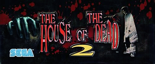 House of the Dead 2 (USA) Marquee