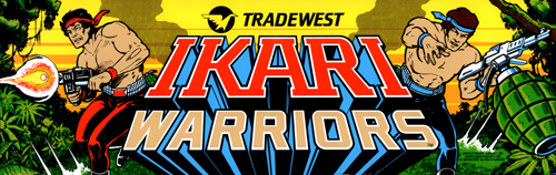 Ikari Warriors (US JAMMA) Marquee