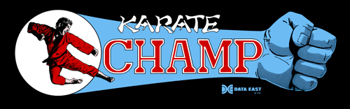 Karate Champ (US) Marquee