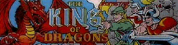 The King of Dragons (World 910805) Marquee