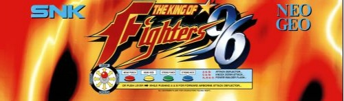 The King of Fighters '96 (Set 1) Marquee