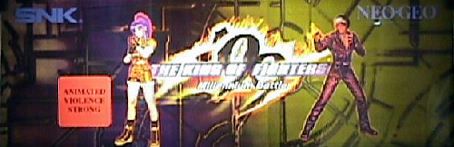 The King of Fighters '99 - Millennium Battle (earlier) Marquee