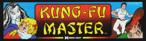 Kung-Fu Master (World) Marquee