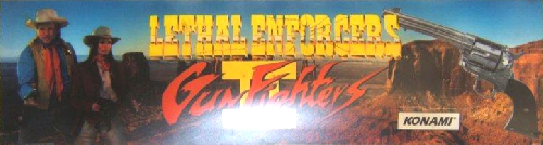 Lethal Enforcers II: Gun Fighters (ver EAA) Marquee