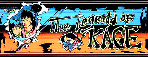 The Legend of Kage Marquee
