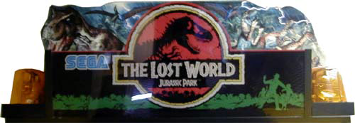 The Lost World (Japan, Revision A) Marquee