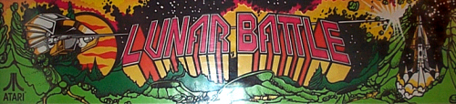 Lunar Battle (prototype, later) Marquee