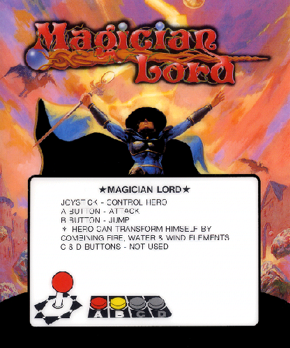 Magician Lord (Set 1) Marquee
