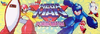 Mega Man: The Power Battle (CPS1 Asia 951006) Marquee