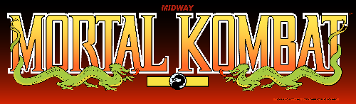 Mortal Kombat (rev 5.0 T-Unit 03/19/93) Marquee