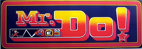 Mr. Do! (prototype) Marquee