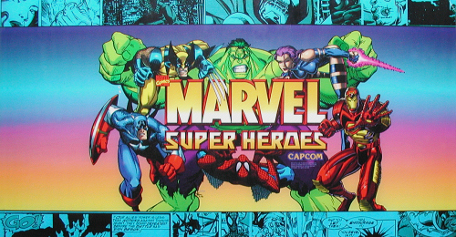 Marvel Super Heroes (Euro 951024) Marquee