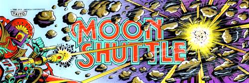 Moon Shuttle (US? set 1) Marquee