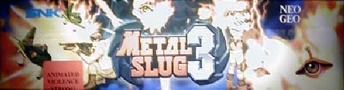 Metal Slug 3 (Not Encrypted) Marquee