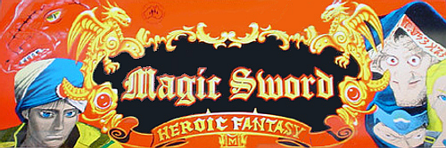 Magic Sword: Heroic Fantasy (World 900725) Marquee