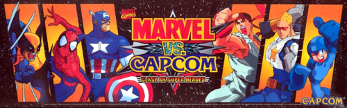 Marvel Vs. Capcom: Clash of Super Heroes (Euro 980123) Marquee
